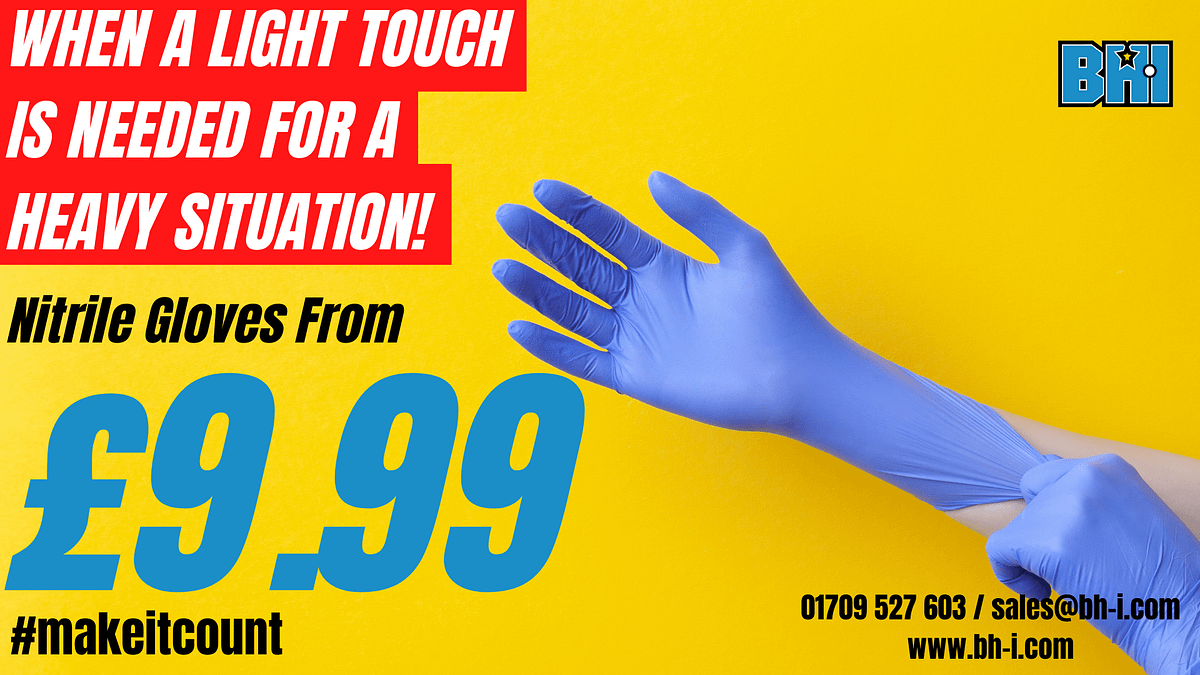 BHI Supplies ltd - Nitrile glove offer 3