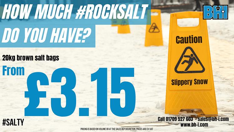 BHI Rock Salt offer 2020